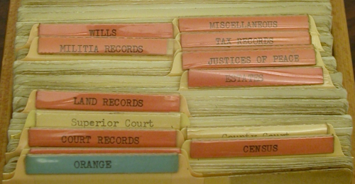 Orange County, NC - Where the records reside